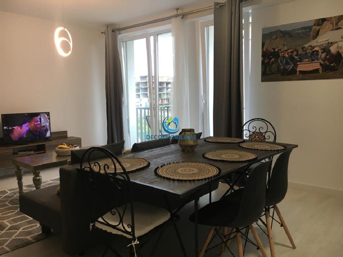 Apartament studio de inchiriat, finisat si mobilat lux zona Grand Hotel Italia
