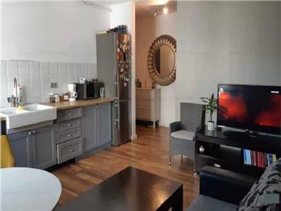 Apartament cu 3 camere finisat si mobilat modern, parcare, Borhanci