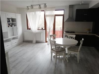 Apartament 2 camere mobilat modern si gradina proprie in Manastur, zona Campului