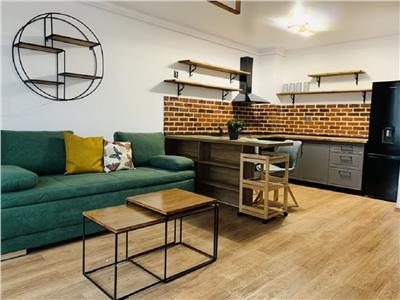 Apartament 2 camere ultrafinisat cu garaj in Plopilor, Sala Sporturilor