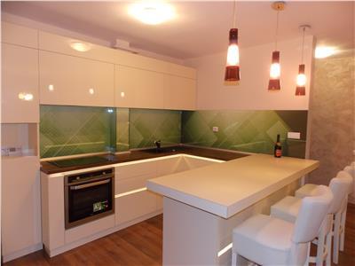 Vanzare Apartament 3 camere de lux in Gruia,  terasa 40 mp, mobilat, utilat si garaj