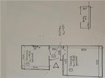 Apartament 2 camere in Centru, parter, str. I. C. Bratianu